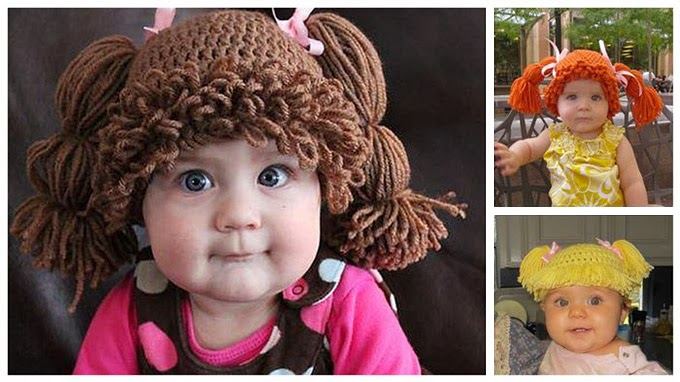 Cabbage-Patch-KidsInspired-Knit-Hats