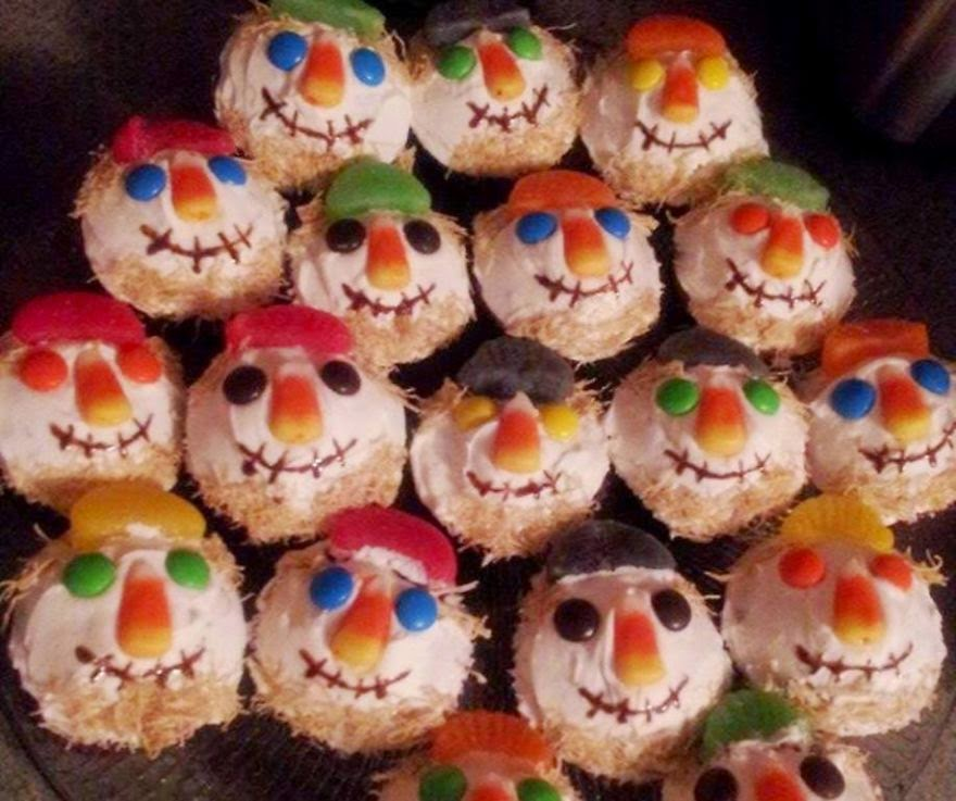 Halloween Cupcake Ideas